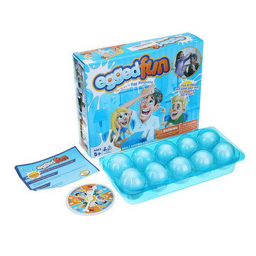 Egged On Game Interactive Shocker Fun Gadgets Egg Roulette Giochi per genitore-figlio Anti Giocattoli di stress
