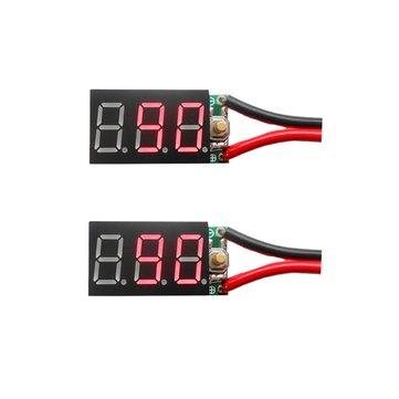 2PCS 6S 7S Pb Lipo Battery Tester Instruments And Ni-MH Battery Digital Display