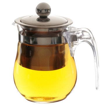 350ml 12fl.oz แก้วกาน้ำชาร้อนทนความร้อนสแตนเลสสตีลหม้อกาแฟปลอดสารอาหาร เครื่องมือ