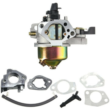 Carburetor With Insulator Gasket Kit For Honda GX390 GX340 13HP