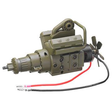 Original HG P801 1/12 Rc Coche Repuestos Engranaje de transmisión de metal Caja Ensamblaje 8ASS-P0003