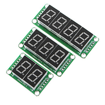 74HC595 Static Driving Digital Display Module Can Series Seamlessly 0.5-inch Bright Red