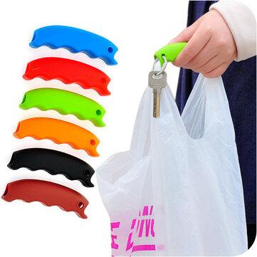 Honana HN-0623 7 สี Soft Shopping Bag Clip กระเป๋าพกพาสะดวก เครื่องมือ สายพวงกุญแจ