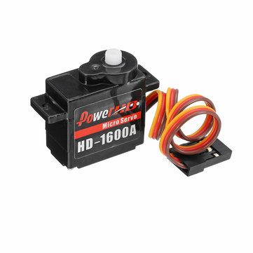 Power HD 1600A 1.3KG 6g Micro Servo Compatible with Futaba JR Airplane RC Model