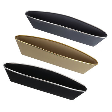 2Pcs Car Seat Crevice Storage PP Organizer Caddy Catcher Box Seat Slit Pocket