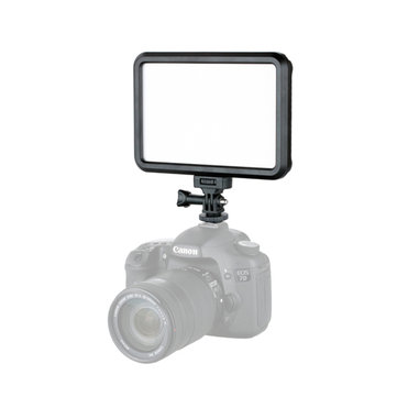 Tolifo PT-12B Slim Ultra Thin Bicolor LED Video Camera Light with Touch Switch for Baby Photography