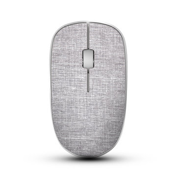 Rapoo 3500Pro Cloth Cover 1000DPI Wireless Optical Mouse for PC Computer Laptop