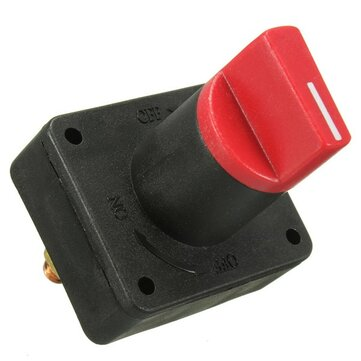 300A Battery Power ON OFF Disconnect Rotary Isolator Kill Switch Boat Car Van Truck