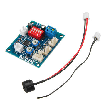 DC 12V Four Wire Thermostat PWM PC CPU Fan Temperature Control Speed Controller Module