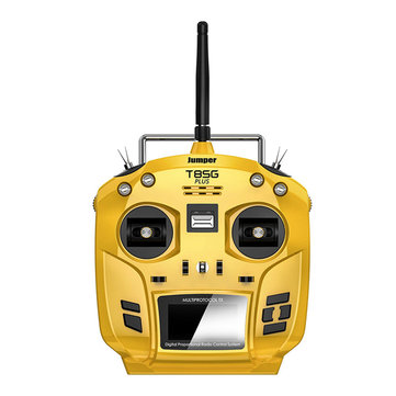 "Jumper T8SG V2.0 Plus Hall Gimbal Multi-protocol Advanced 2.7"" OLED Transmitter for Flysky Frsky"