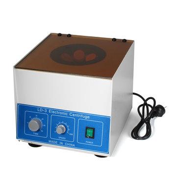 LD-3 Desktop Electric Centrifuge Tools Low-speed Lab Benchtop Centrifuge 4000 RPM 6 x 50ml