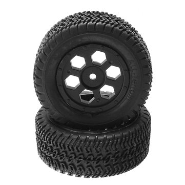 Eachine RatingKing F14 2PCS Rim Tire With Foam Wheel 411711 411712 1/14 RC Car Parts