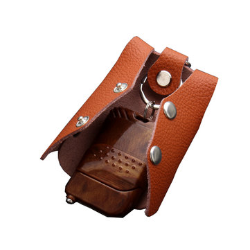 Universal Genuine Leather Small Vest Design Car Key Case/Bag Holder