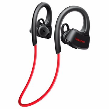 Dacom P10 Sport Swim IPX7 Waterproof Ear Hook Wireless Bluetooth Earphone With Mic