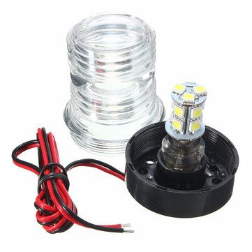 LED Anchor Navigation Light For Marine Boat Yacht 12V All Round 360 Degree
