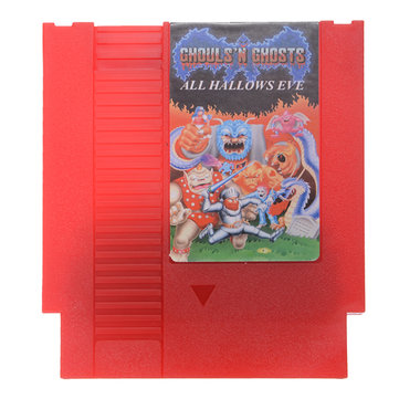 All Hallow's Eve - Ghosts'n Goblins 72 Pin 8 Bit Game Card Cartridge for NES Nintendo