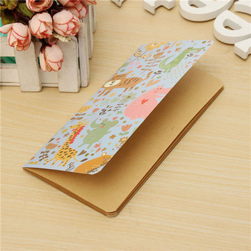 Mini Cartoon Pocket Notepad Portable Notebook Handy Paper Journal Diary