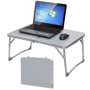 Portable Picnic Camping Folding Table Laptop Desk Notebook Bed Tray
