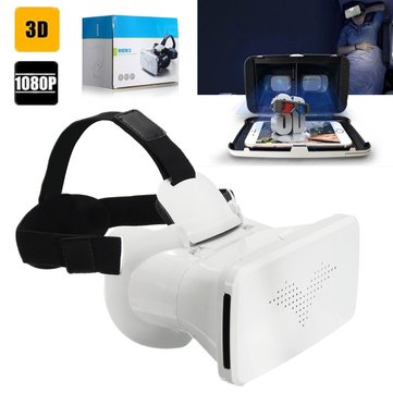 RITECH III Neutral 3D VR Virtual Reality Glasses Movie Game for 3.5 to 6 Inch Smartphone
