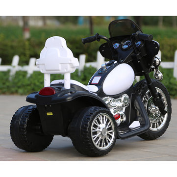 3 Wheel Kids Electric Ride-On Car Motorbike Motorcycle Remote Battery Toy For Harley