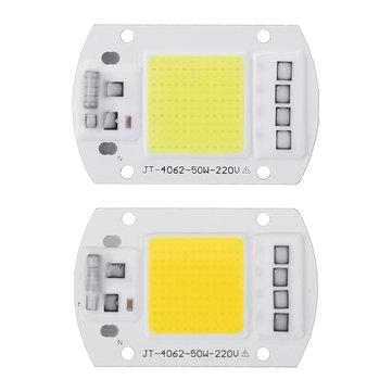 High Powered 50W COB LED Chip Light Source AC190-240V for DIY Spotlight Floodlight