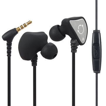 Q3 Sports Running Sweatproof In-ear Earhook Earphone Headset With Mic For Mobile Phone
