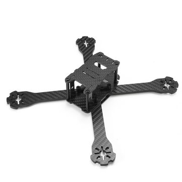 Realacc Genius 215 3K Carbon FPV Racing Frame RC Drone 4mm Frame Arm met 5V & 12V VOB