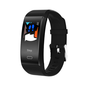 Bakeey N86 0.96inch Blood Pressure Heart Rate Monitor Sport Modes Fitness Tracker Smart Wristband