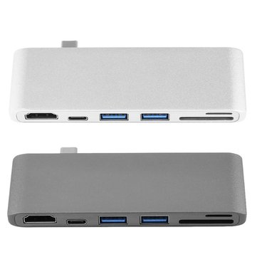 High Definition Multimedia Inte Hub PD HUB TYPE C To USB3.0 HUB USB3.1 Support SD And TF Card Reader