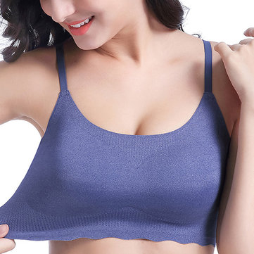 Push Up Wireless Padded Sleeping Vest Bra
