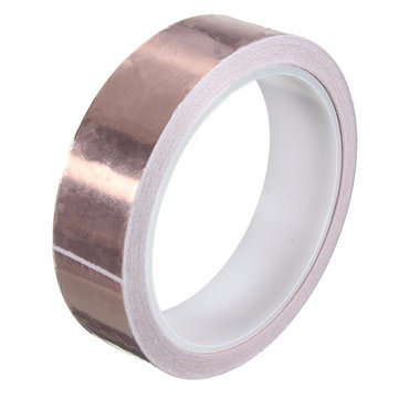 25mm × 10m Pure Cooper Foil Tape EMI Single Side Conductive Tape
