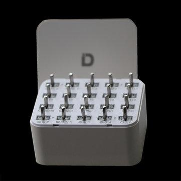 XIAODONG®20dans1vismultifonctions kit de vis électriques boîte pour tournevis électrique
