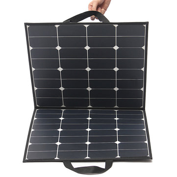 Elfeland® SP-4 100W 18V Flexible Solar Panel Solar Monocristalino Waterproof Folding Panel