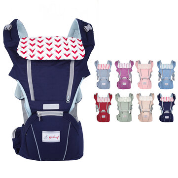 0 36 Months 3 in 1 Breathable Front Baby Carriers Waist Stool Infant Comfortable Wrap Sling Backpack