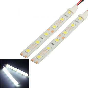 2pcs Waterproof LED Strip Lights 10cm 6 LED 5050 Flexible 12V For Motorcycle Boat