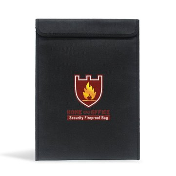 38x28cm Double-layer Fireproof Explosion Proof LiPo Battery Safety Protective Bag