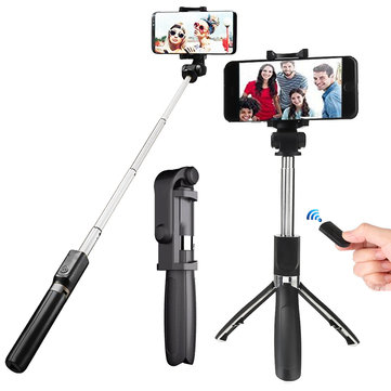 OLDRIVER L01 Bluetooth Remote Control Selfie Stick Tripod for 3.5-6.2