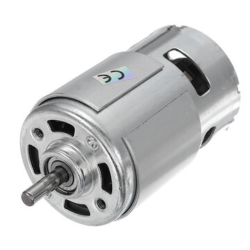 Dc 24v 21000rpm high speed large torque 775 motor sale for Large dc electric motor