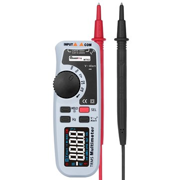 MUSTOOL MT92 6000 Counts True RMS Handheld Multimeter Black EBTN Screen AC/DC V/A Test