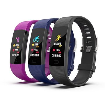 Bakeey Y1 0.96inch Color Screen Heart Rate Sleep Monitor Multi-sport Mode Fitness Tracker Smart Watch Bracelet
