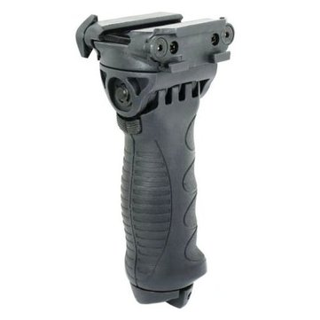 AURKTECH 20mm Rail Mount Gun Accessories Tactical 40 Degree Swivel Foldable Foregrip Bipod