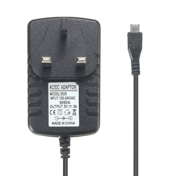 DC 5V Micro USB Power Converter Adapter Plug US/AU/EU/UK