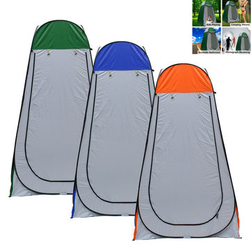 1.2x1.2x1.9m Portable Pop-up Tent Camping Travel Toilet Shower Room Outdoor Shelter