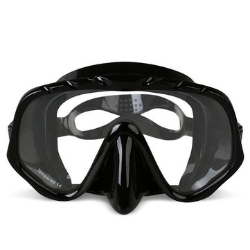 Copozz Anti Fog Diving Goggles Scuba Mask Glasses Silicone Large HD View Tempered Mirrored Lens