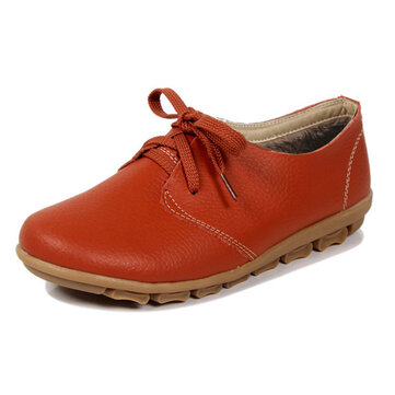 Fashion Autumn And Winter Women Warm Cotton Flats Lace Up Soft Sloe Flats