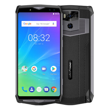 Ulefone Power 5S 6.0 inch 13000mAh Wireless Charge 4GB RAM 64GB ROM MT6763 Octa core 4G Smartphone