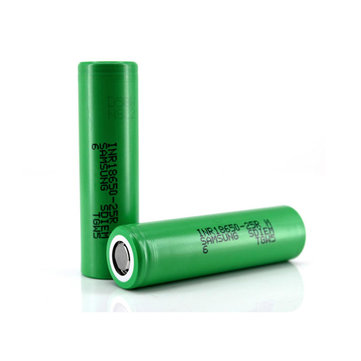 2PCS 3.6V INR18650-25RM 2500mAh High Drain Li-ion Rechargeable Battery For Samsung