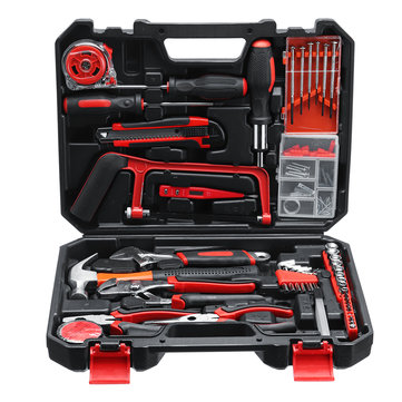 108Pcs Essential Household Tool Kit Set Standard Precision Screwdriver Case Box