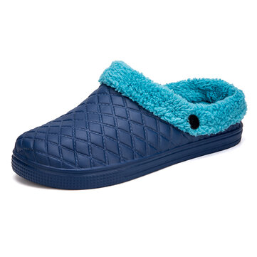Men Size Casual Warm Soft Daily Home Slippers