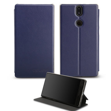 Flip Stand Shockproof PU Leather Protective Case For UMIDIGI Crystal